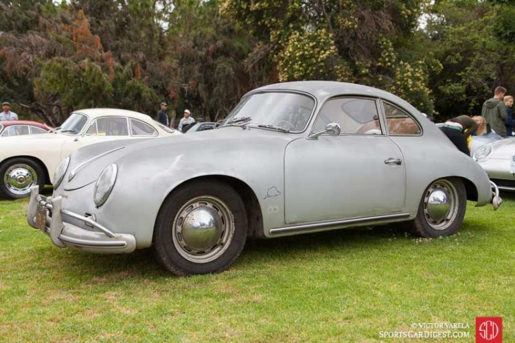 1957 Porsche 356 A Coupe owned by Jack Brown