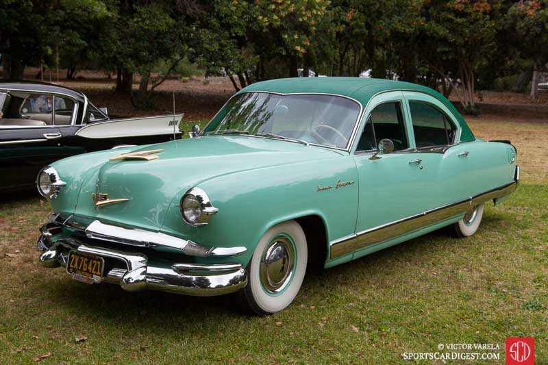 1953 Kaiser Dragon owned by Ron Verschoor