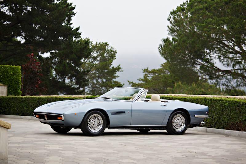 1971 Maserati Ghibli 4.9 SS Spider (photo: Brian Henniker)