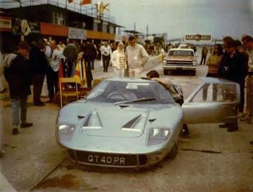 1966 Ford GT40 P-1028 Sebring