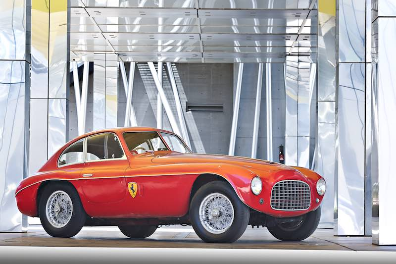 1950 Ferrari 166 MM Berlinetta, chassis 0046 M (photo: Mathieu Heurtault)
