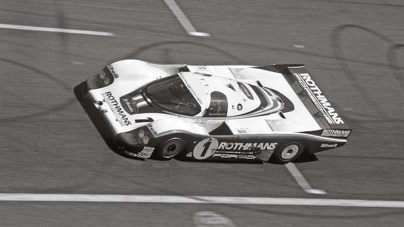 1982 Porsche 956 at Le Mans