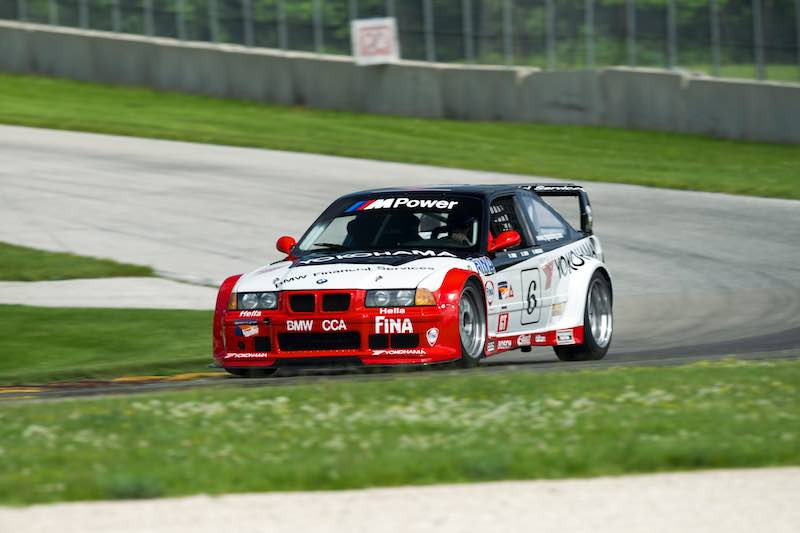 1997 BMW M3 GT-2 (E36) to race at the Rolex Monterey Motorsports Reunion 2016