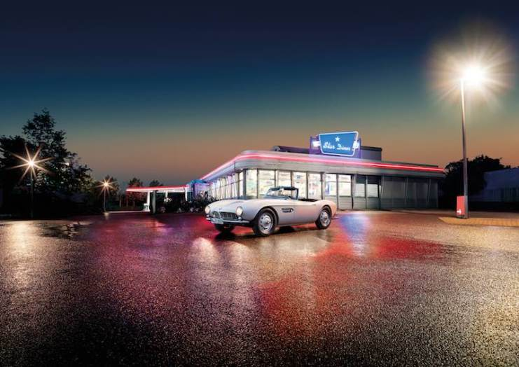1957 BMW 507 Roadster of Elvis Presley
