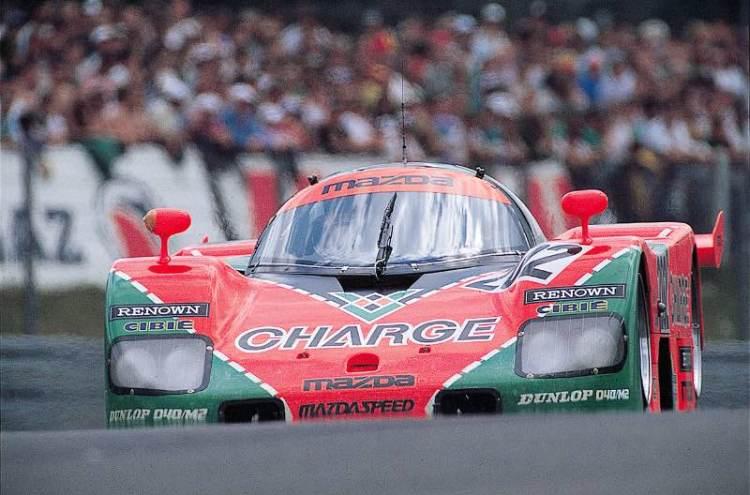 1989 Mazda 767B at Le Mans