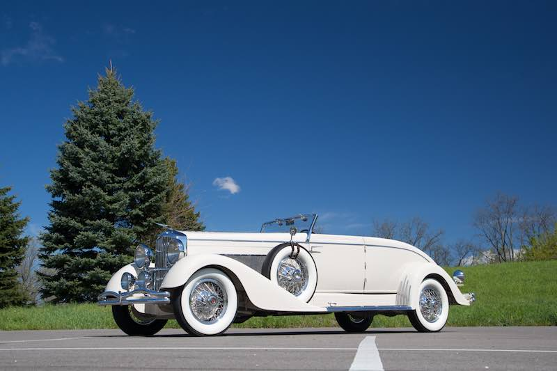 1933 Duesenberg Model J Convertible Coupe