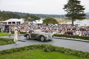1937 Delahaye 145 Chapron Coupe (photo: Steve Burton)