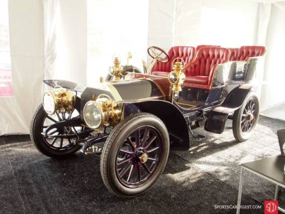 1904 Mercedes-Simplex 28-32HP Rear Entrance Tonneau