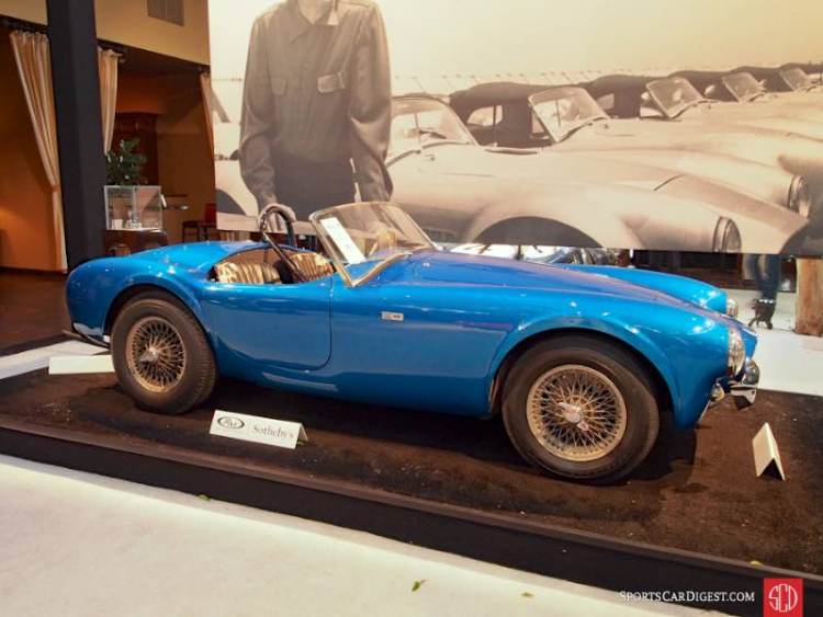 1962 Shelby Cobra 260 Roadster CSX2000