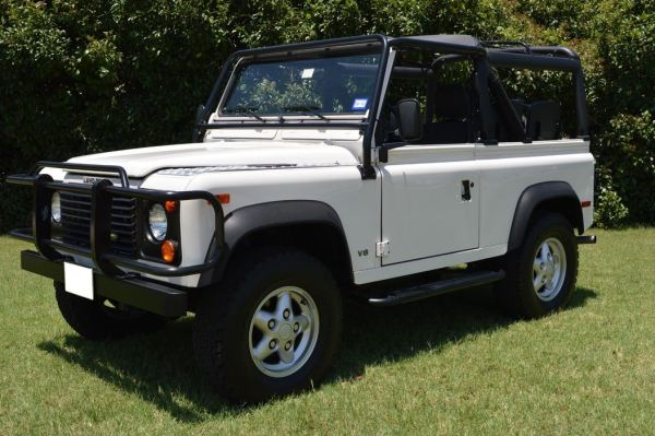 1995 Land Rover Defender 90 (Russo and Steele)