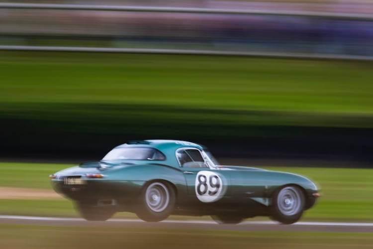 Jaguar E-Type Goodwood Revival 2016