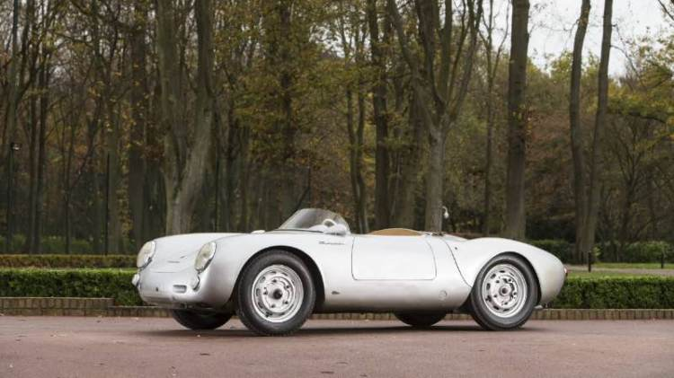 Bonhams Goodwood Revival 2016 1956 Porsche 550 RS Spyder