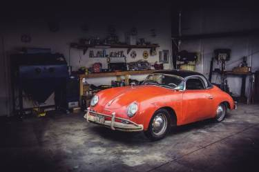 1957 Porsche 356 A 1600 Speedster
