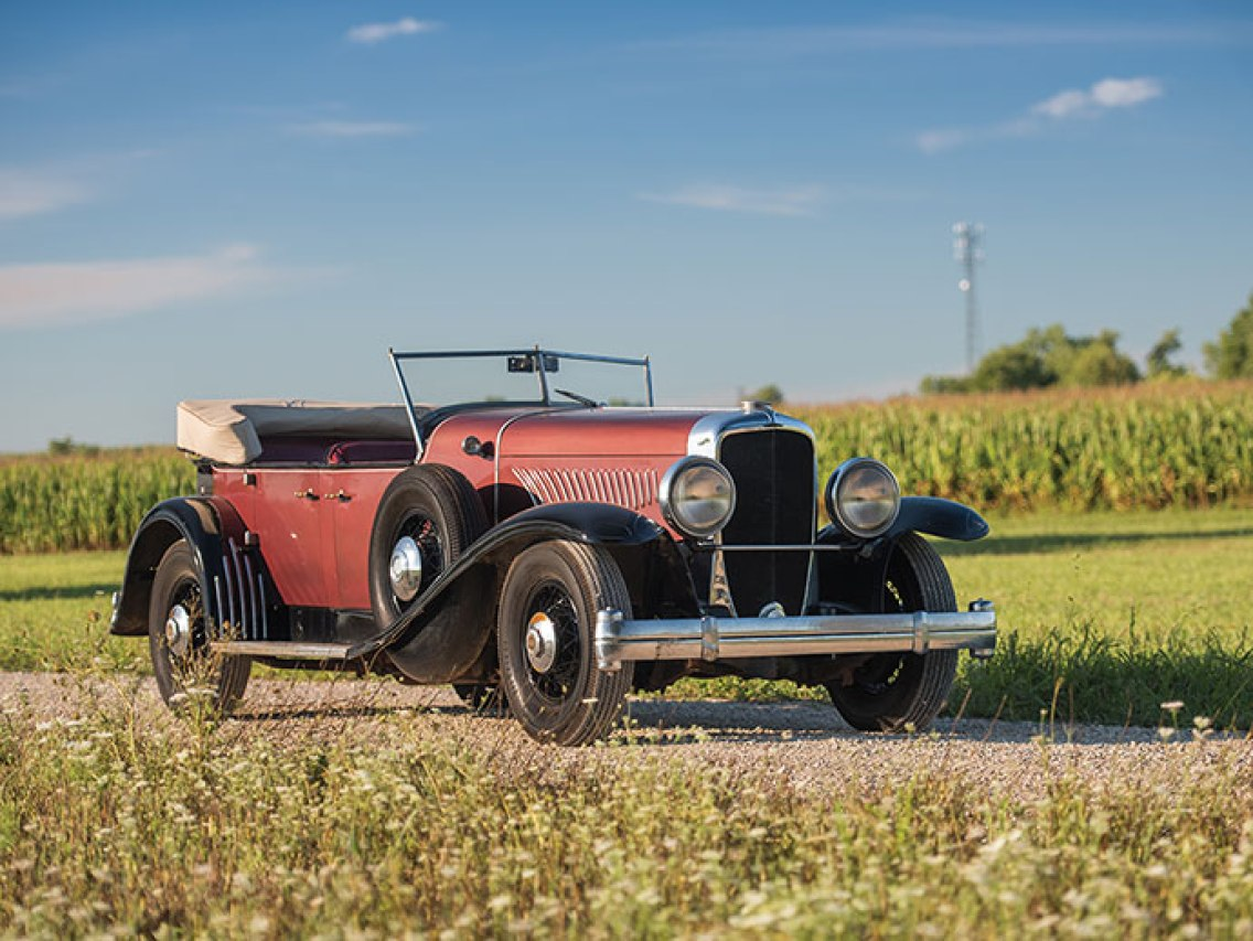 1927 Duesenberg Model A/Y Phaeton Prototype