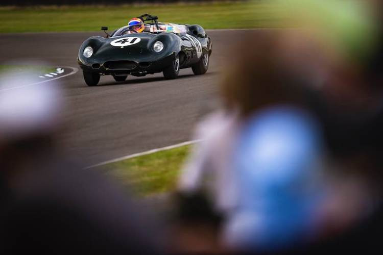 Costin Lister-Jaguar, Sussex Trophy, Goodwood Revival 2016 (Photo: Drew Gibson)