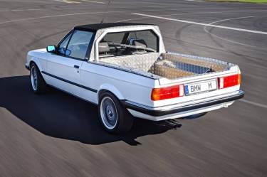 BMW M3 Pickup, concept car 1986