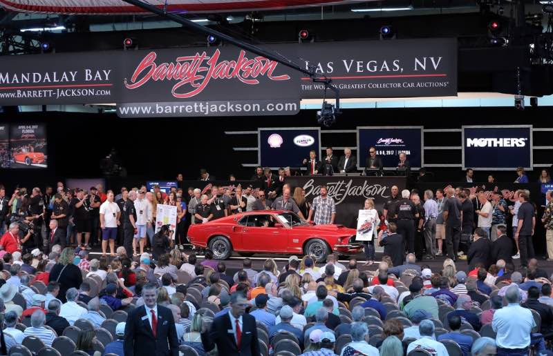 Barrett Jackson Las Vegas 2016 Auction Results