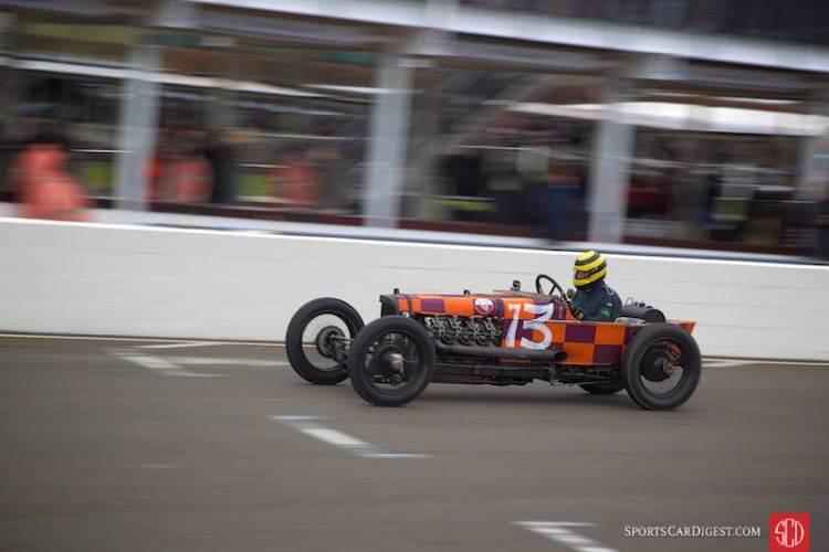 Race Winner - Duncan Pittaway's 1921 GN Curtiss V-8 (photo: Gunter Biener)