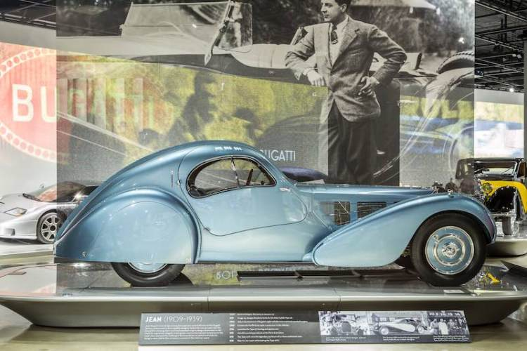 1935 Bugatti Type 57SC Atlantic