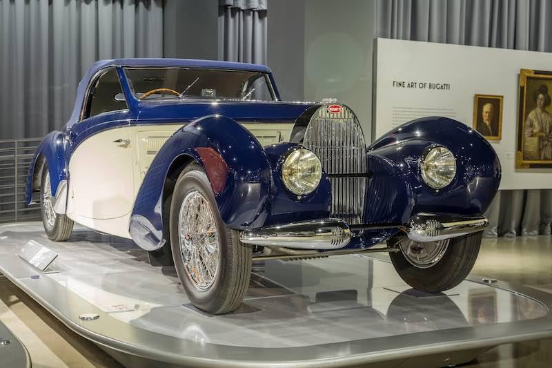 1939 Bugatti Type 57C Aravis by Gangloff