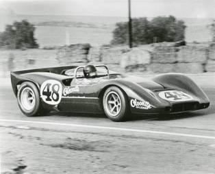 Dan Gurney in the McLaren M6B 'McLeagle'