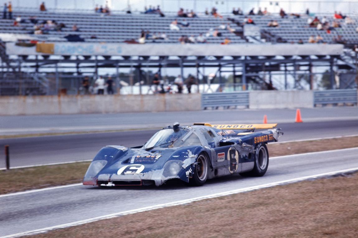 Attractive Penske White Racing Ferrari 512 M Driven By Mark Donohue And David Hobbs  (photo Great Pictures