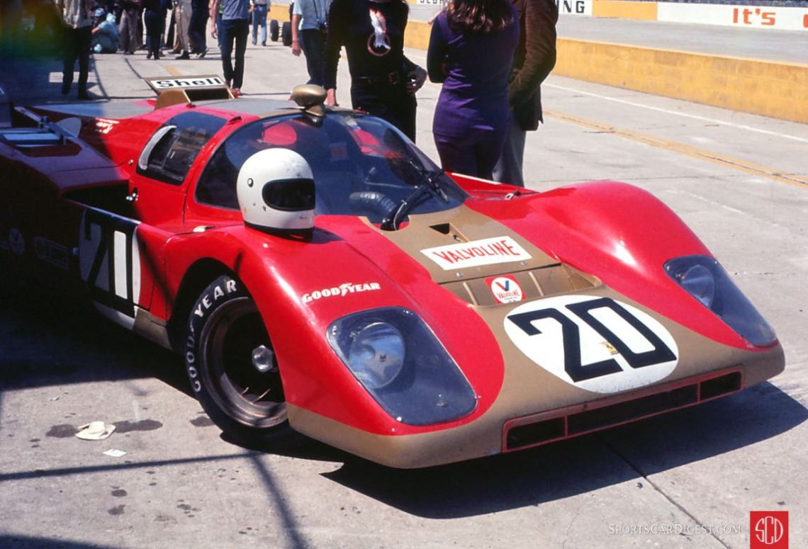 The Young American Racing Ferrari 512M driven by Gregg Young and Masten Gregory (Photo: Gene Bussian)