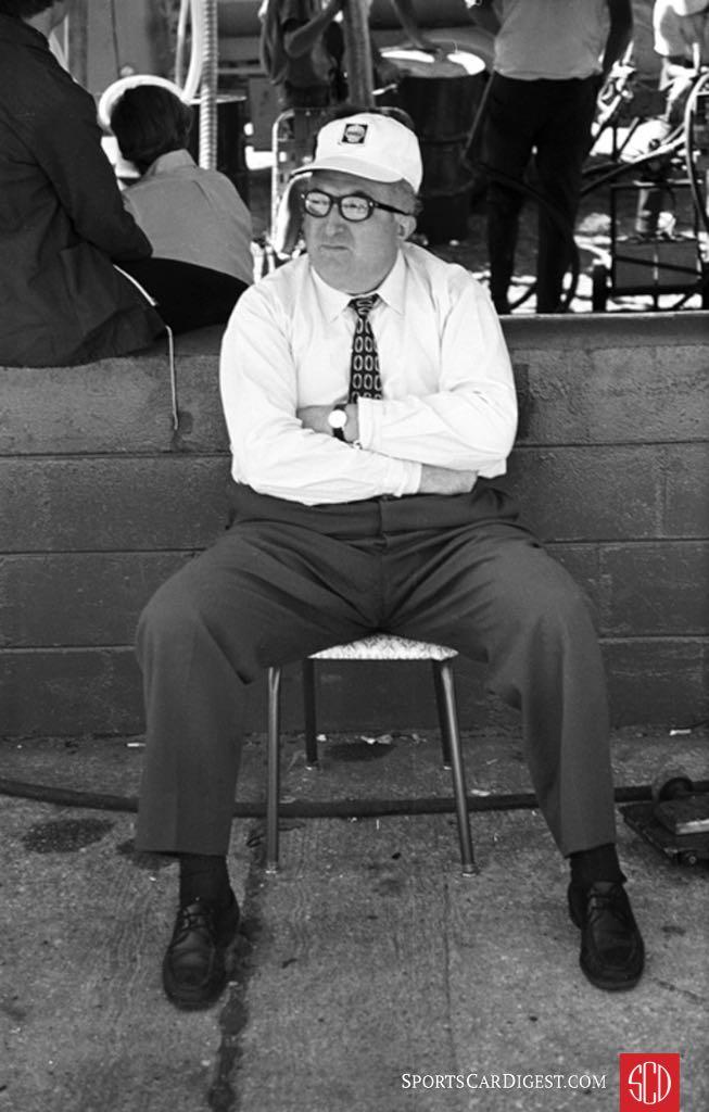 Carlo Chiti managed the Alfa effort at Sebring in 1971 (Photo: www.autosportsltd.com)