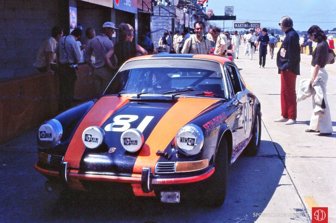 Ray Walle, Tom Davey and Tom Reddy drove this Porsche 911S (Photo: Gene Bussian)