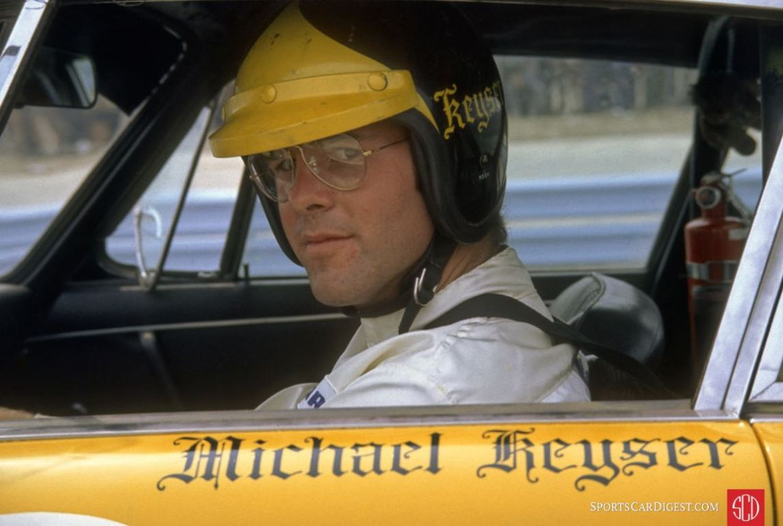 Michael Keyser drove a Porsche 911S at Sebring (Photo www.autosportsltd.com)