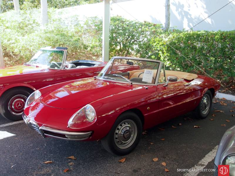 1966 Alfa Romeo Giulia Duetto Spider, Body by Pininfarina