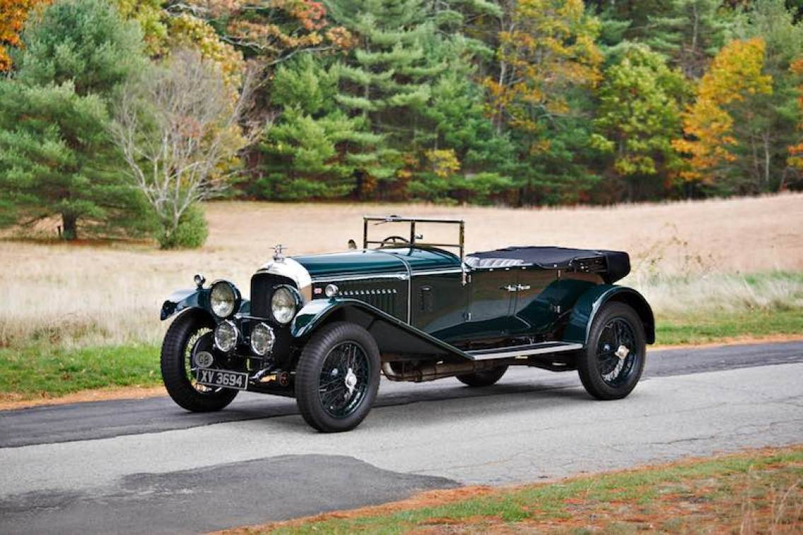 1928 Bentley 4.5 Litre Open Tourer (photo: Brian Henniker)