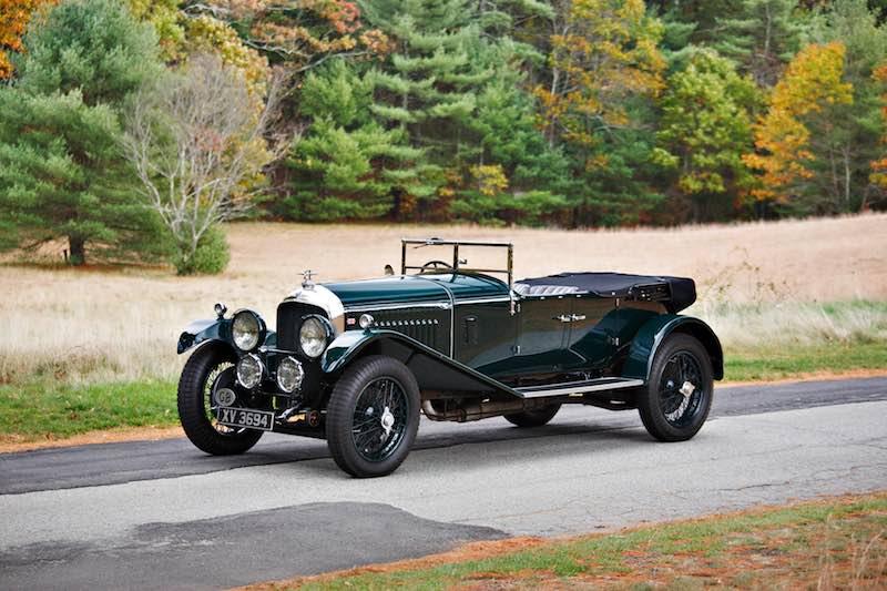 1928 Bentley 4.5 Litre Open Tourer (photo: Brian Henniker)