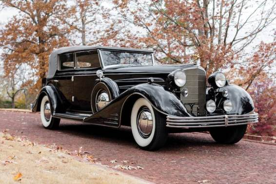 1933 Cadillac V-16 All-Weather Phaeton (photo: Art Meripol)