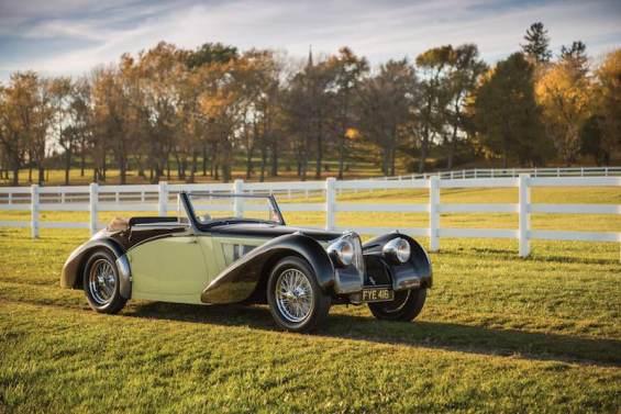 1937 Bugatti Type 57S Cabriolet (photo: Darin Schnabel)