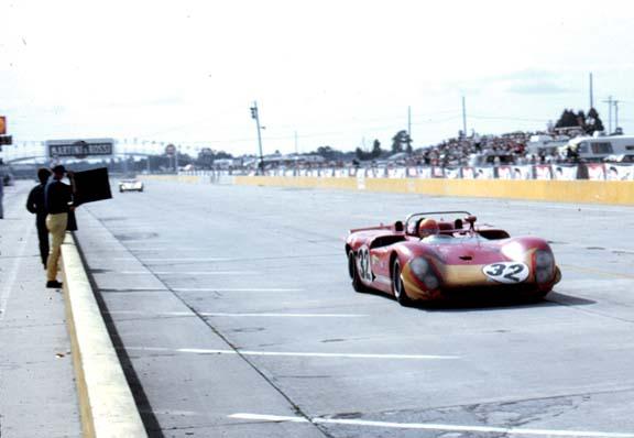 Nani Galli in the Alfa Romeo 33/3.