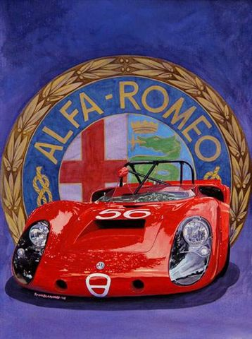 Alfa T33 to be officially released at the upcoming Meadow Brook