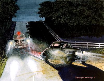 Automobile Quarterly illustration Haulin' Shine
