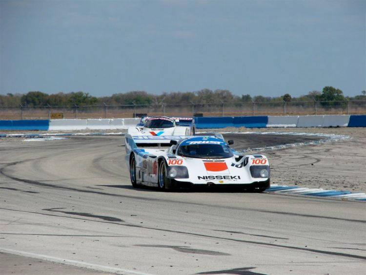 HSR Sebring Challenge Porsche 962