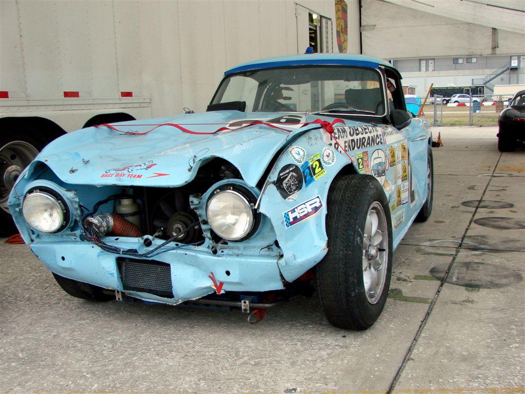 HSR Sebring Challenge Triumph TR4