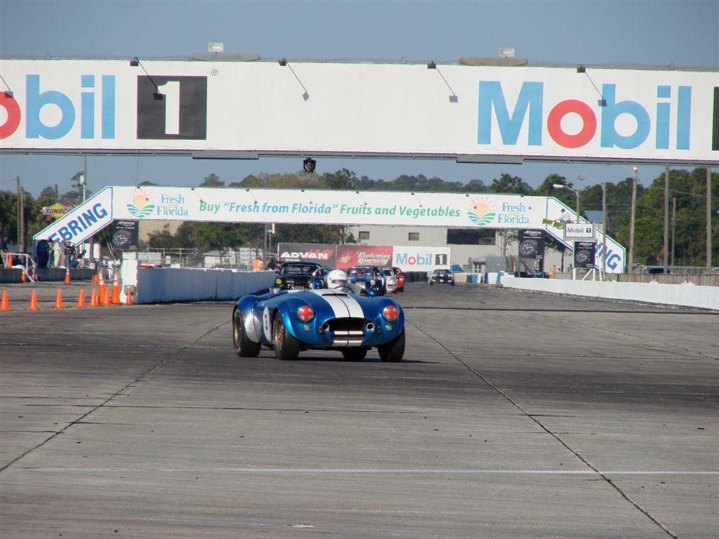 HSR Sebring Challenge Shelby Cobra