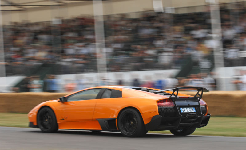 Lamborghini Murcielago in the Super Car Run