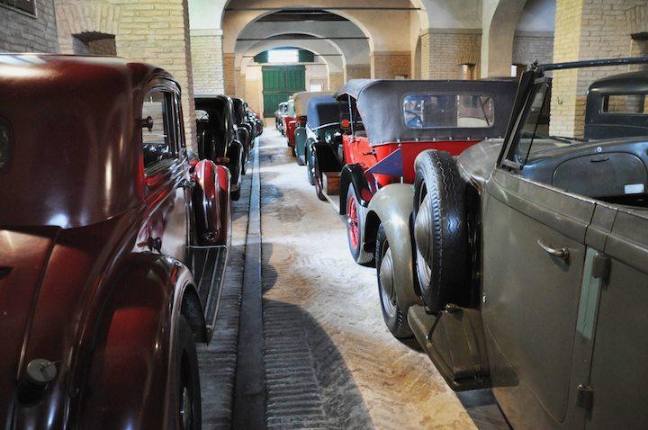 Alfa Romeo 6C 2500 Colonial Torpedo Militare and Pre-War Collection of Mario Righini