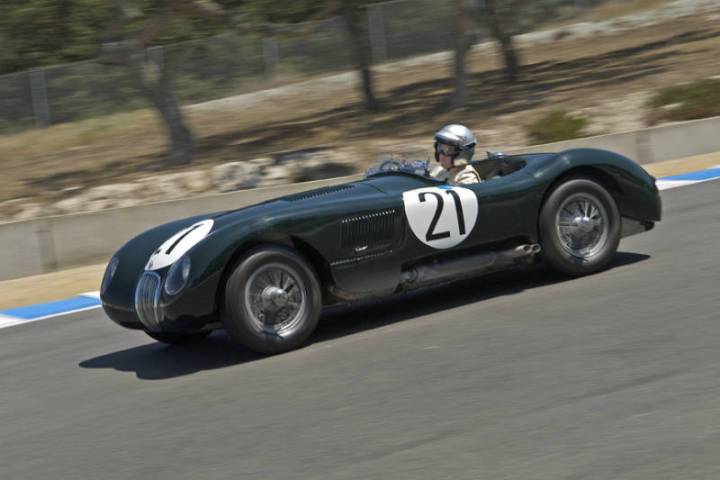 1953 Jaguar C-Type - Steve Earle