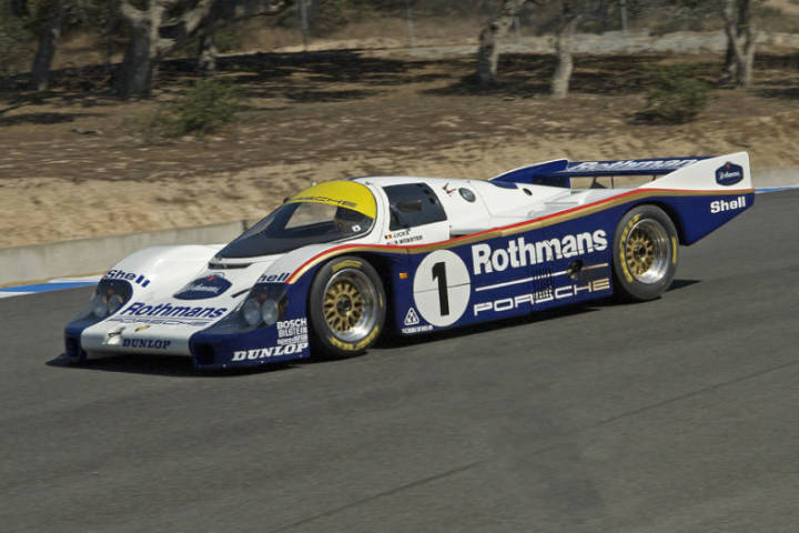 1982 Porsche 956 - Ransom Webster