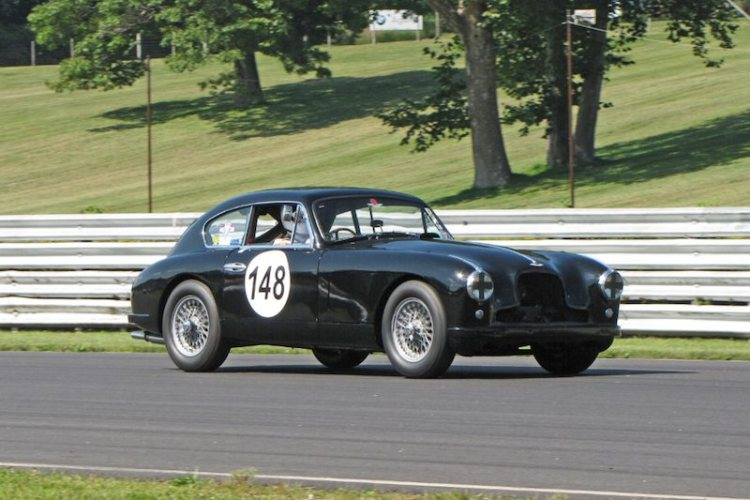 1954 Aston Martin DB 2/4 - Jim Hazen