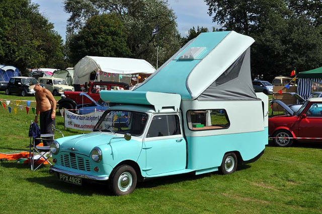 Some people like their Mini so much they want to live in it