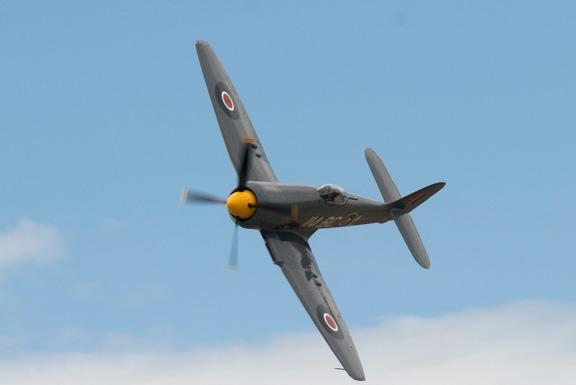 #114 Argonaut Hawker Sea Fury of Dennis Sanders
