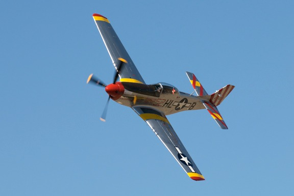 Fred Cabanas in #52 American Beauty F-51 Mustang