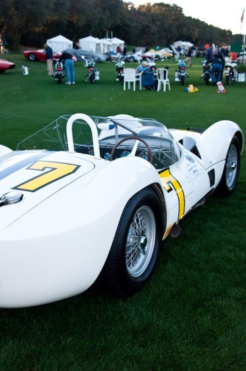 Concours de Sport Best of Show, 1960 Maserati Tipo 61: Jonathon Feiber